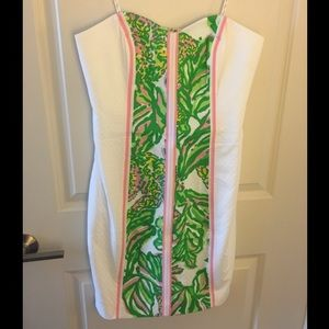 Lilly Pulitzer Angela Sweetheart Strapless Dress